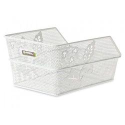 Kosz na tylny bagażnik BASIL CENTO FLOWER S Mounting set for CENTO basket, stalowy biały