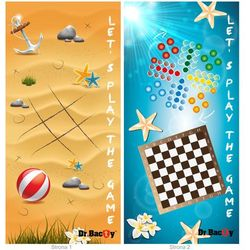 Ręcznik treningowy Dr.Bacty XL, GAMES4PLAY - Games4Play