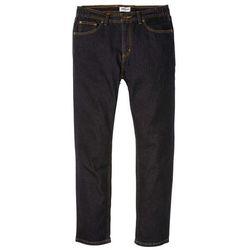 """Dżinsy z elastycznymi wstawkami w talii CLASSIC FIT STRAIGHT bonprix czarny """"stone"""""""