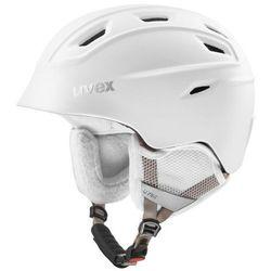 UVEX kask narciarski Fierce - white mat (55-59 cm)