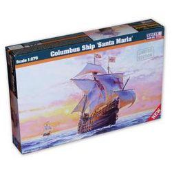 "Model statku Columbus Ship ""Santa Maria"" A.D. 1492. Darmowy odbiór w niemal 100 księgarniach!"