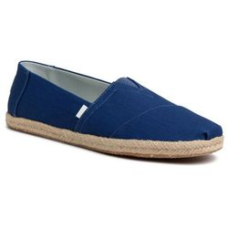 Espadryle TOMS - Classic 10014980 Plant Dyed Indigo Canvas/Rope