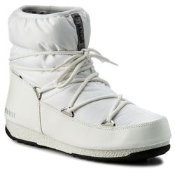 Śniegowce MOON BOOT - W.E. Low Nylon Wp 24006200002 Bianco/Argento