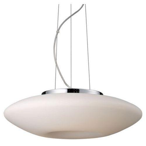 Lampy sufitowe, Żyrandol LAMPA wisząca GRAHAM 2937-SP Italux szklana OPRAWA nowoczesna biała