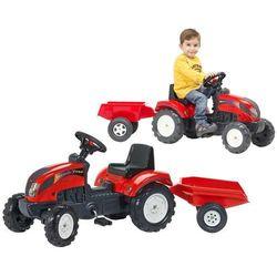 FALK Traktor z przyczepą, czerwony 2/5 Darmowa wysyłka i zwroty