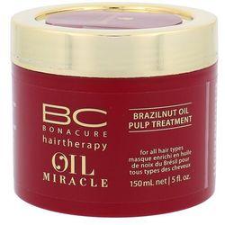 Schwarzkopf BC OIL Miracle Brazilnut Oil, maska z pulpy orzechów brazylijskich 150ml