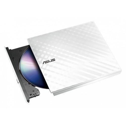 Napędy optyczne, Napęd ASUS SDRW-08D2S-U LITE USB biały slim BOX + Zamów z DOSTAWĄ W PONIEDZIAŁEK! + DARMOWY TRANSPORT!