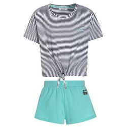 New Look 915 Generation SUNDAY STRIPE KNOT Piżama green