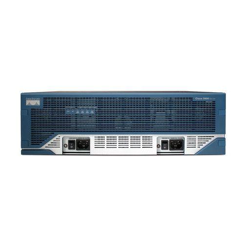 Routery i modemy ADSL, CISCO3845-CCME/K9 Router Cisco 3845 Voice Bundle w/ PVDM2-64,FL-CCME-240,SP Serv,64F/256D