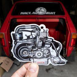 Zapach do auta, silnik Fiata 126p