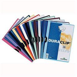 Skoroszyt z klipsem Durable Duraclip Original 30 kartek biały 220002