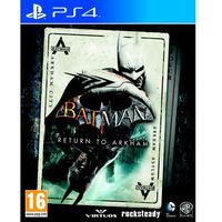Gry na PlayStation 4, Batman Return to Arkham (PS4)