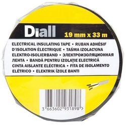 Taśma izolacyjna Diall PCV 19 mm x 33 m czarna