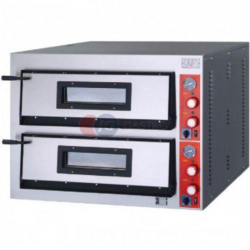Piece i płyty grzejne gastronomiczne, Piec do pizzy 2-komorowy 2x6x36cm FR-Line szeroki GGF 781902