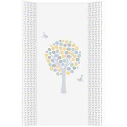 MAMO-TATO Przewijak na łóżeczko usztywniony 50x70 Magiczne Drzewa niebieskie