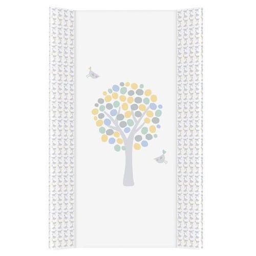 Przewijaki i maty do przewijania, MAMO-TATO Przewijak na łóżeczko usztywniony 50x70 Magiczne Drzewa niebieskie