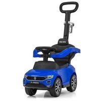 Jeździki, Jeździk pojazd z rączką volkswagen t-roc blue 3391