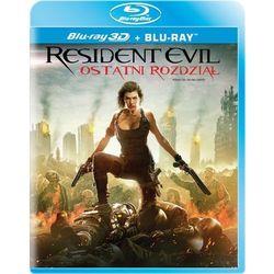 Resident Evil: Ostatni rozdział 3D (2BD)