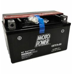 Akumulator motocyklowy Moto Power CBTX7A-BS YTX7A-BS 12V 6Ah 105A EN L+