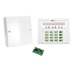 Komplet: Centrala alarmowa VERSA 5, manipulator VERSA-LED-GR, obudowa OPU-4 P