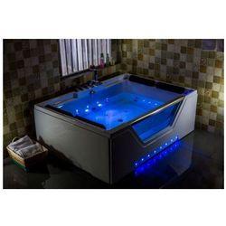Wanna C-3099 170cmx120cmx58cm 2-osobowa chromoterapia podgrzewacz wody