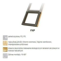 Okno dachowe FAKRO FXP P2 114x88 antywłamaniowe nieotwierane