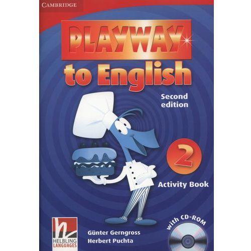 Książki do nauki języka, Playway to English 2 (2nd Edition) Activity Book (zeszyt ćwiczeń) with CD-ROM (opr. miękka)