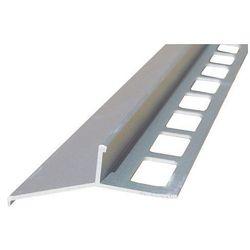 Profil aluminiowy balkonowy okapnikowy 44mm 3,0m - okapnik anodowany srebro