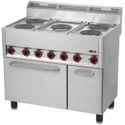 Kuchnia elektryczna z piekarnikiem | 13300W | 990x600x(H)860/920mm