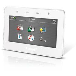 """INT-TSG-WSW Manipulator graficzny z ekranem dotykowym 4,3"""" (biały) SATEL"""