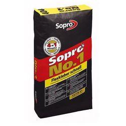 SOPRO No 1 (404)- szybkowiążąca wysokoelastyczna zaprawa klejowa, 25 kg
