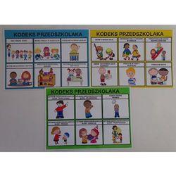 Kodeks przedszkolaka - 3 x plansze edukacyjne