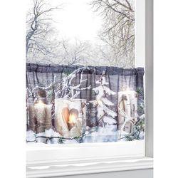 """Zazdrostka LED """"Zimowy krajobraz"""" bonprix biały z nadrukiem"""