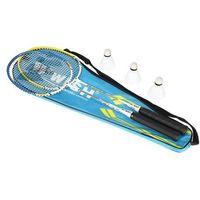 Badminton i speedminton, Zestaw rakiet do Badmintona Wish Alumtec 327K + lotki