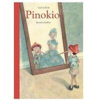 Książki dla dzieci, Pinokio - Carlo Collodi, Quentin Greban (ilustr.) (opr. twarda)