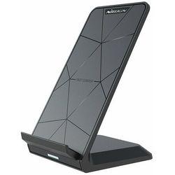 Nillkin bezprzewodowa ładowarka Qi 15 W podstawka stojak na telefon + kabel USB - USB Typ C czarny
