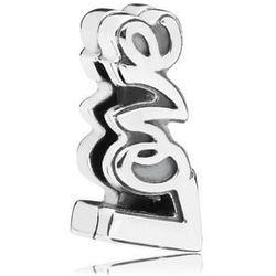 Rodowany srebrny charms pandora koralik reflexions love miłość srebro 925 AP9185RH