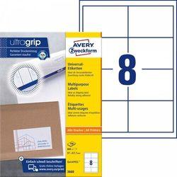Etykiety uniwersalne Avery Zweckform 3660, 97x67,7mm