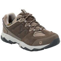 Buty na wędrówki damskie MTN ATTACK 6 TEXAPORE LOW W coconut brown / grey - 5