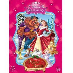 Disney Księżniczka. Piękna i Bestia. Zaczarowane święta [DVD]