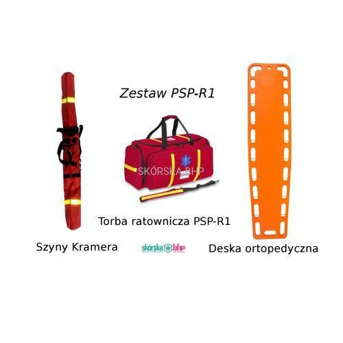 Pozostałe artykuły medyczne, Zestaw medyczny PSP-R1 2019-7 - torba - deska - szyny Kramera