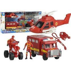 Zestaw straż Pożarna Helikopter Strażacki