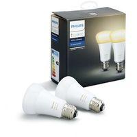 Żarówki LED, Żarówka LED PHILIPS Hue white ambiance 9.5W A60 E27 EU 2Pack