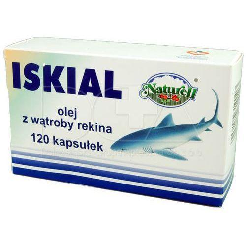 Leki na przeziębienie i grypę, Iskial Olej z wątroby rekina 250mg 120sztuk