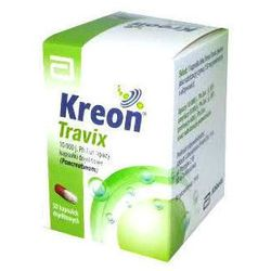 KREON TRAVIX 150mg x 20 kapsułek