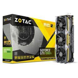 Karta graficzna Zotac GeForce GTX 1080 Ti AMP Extreme Core Edition 11GB GDDR5X (352 bit), DVI-D, HDMI, 3xDisplayPort, BOX (ZT-P10810F-10P) Darmowy odbiór w 21 miastach!