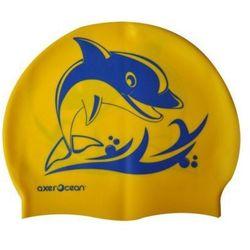 Czepek AXER A2995 Ocean Żółto-niebieski