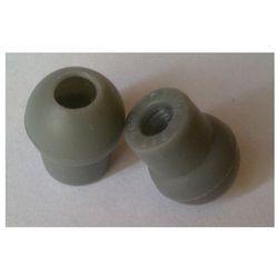 Średnio miękkie oliwki do stetoskopów Spirit, duże, wciskane, szare