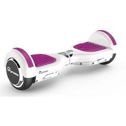 Elektryczna deskorolka smartboard SKYMASTER Wheels Lark 7 Biało-fioletowy + Zamów z DOSTAWĄ JUTRO!