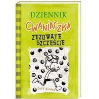 Literatura młodzieżowa, Dziennik cwaniaczka zezowate szczęście - jeff kinney (opr. miękka)